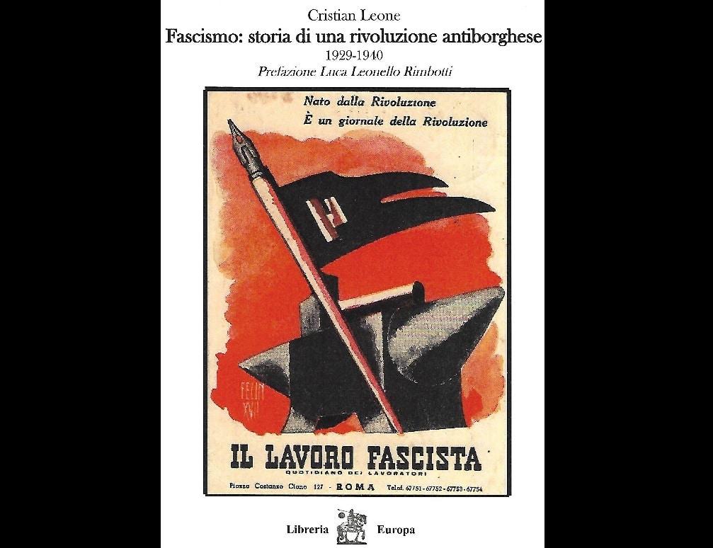 libro fascismo rivoluzione antiborghese